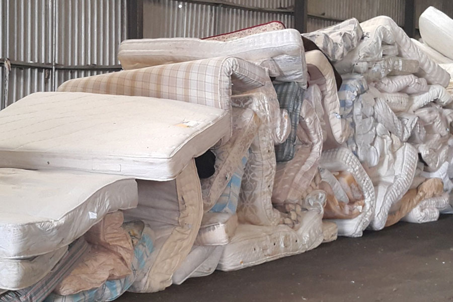 Mattress manufacturers recycling mattresses